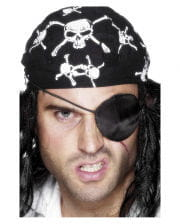 Satin Piraten Augenklappe