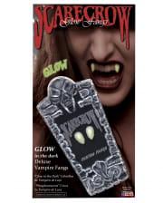 Scarecrow Vampire Teeth UV Active Small