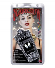 Scarecrow Vampire Fangs Chromed