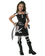 Scarlett Gothic Pirate Child Costume M