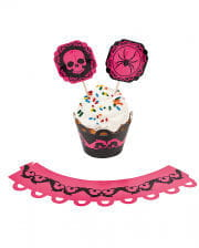 Pink Halloween Cupcake Set 100 Pcs.