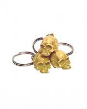 Schlüsselanhänger Rotten Skull 12 St.