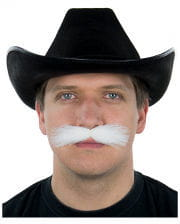 White mustache