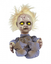 Screaming Baby Doll Animatronic With Movement