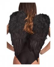 Angel wings black 60 x 50cm