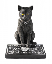 Black Cat With Ouija Board