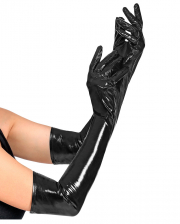 Black Paint Gloves