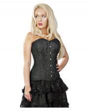 Burleska Versatile Full Breasted Corset Black