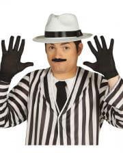 Schwarze Handschuhe als Kostümzubehör