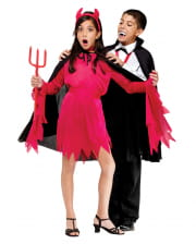 Black Halloween Kids Cloak
