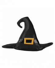 Witch Hat Halloween Satin Foil Balloon