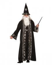 Black Warlock Costume For Adults