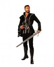 Black Prince Men Costume