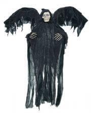 Schwarzer Reaper mit Flügeln