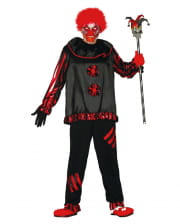 Black Zombie clown costume