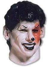 Black Joker Foam Latex Mask
