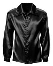 Schwarzes Disco Hemd
