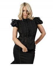 Burleska Chiffon Blouse Black