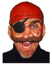 Piraten Halbmaske Evil Bill