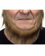 Adhesive sailors beard Tan