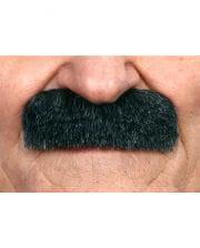 Adhesive Mustache mottled black-gray
