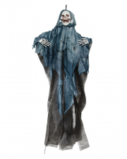 Grim Reaper Hanging Figure With Blue Cowl