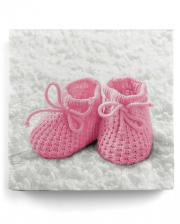 Napkins Baby Shoes Baby Girl 20 Pcs.