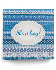 Napkins It's A Boy Blue 20 Pcs.
