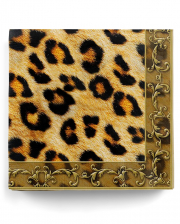 Napkins Leopard 20 Pc.