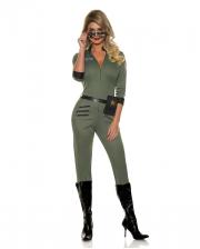 Sexy Airforce Pilotin Kostüm