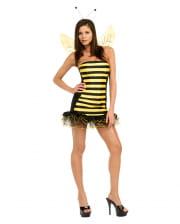 Sexy Biene Kostüm mit Flügel