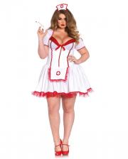 Sexy Krankenschwester Plus Size Kostüm