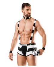 Sexy Convict Costume For Men