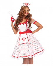 Sexy Vintage Nurse Ladies Costume