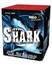 Shark Batteriefeuerwerk 25 Schuss