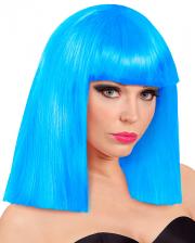 Showgirl Perücke Roxy Blau