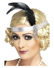 Silver Charleston Headband
