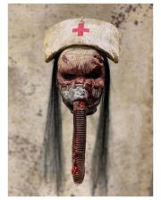 Silent Nurse Horror Maske