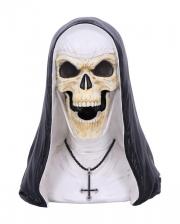 Sister Mortis Skelett Nonnen Figur 29cm
