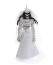 Skelettbraut Hängefigur 40cm