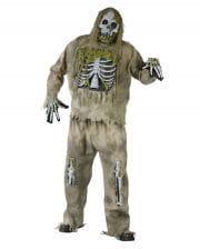 Skeleton Zombie 3D Deluxe Kostüm XL