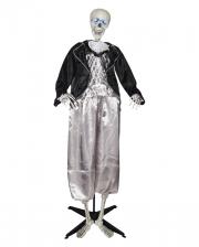 Skelett Bräutigam Standfigur 160cm