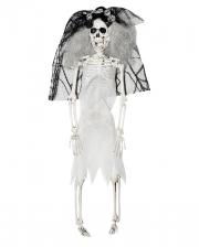 Skeleton Bride With Veil 40cm