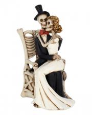 Skelett Brautpaar In guten wie in schlechten Zeiten