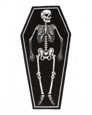 Skeleton In Coffin Carpet