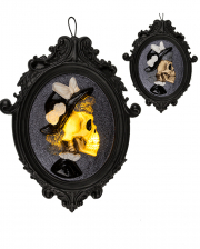 Skeleton Lady Picture Frame With Lighting