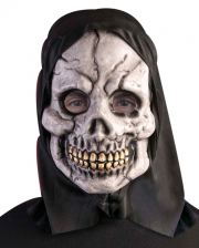 Skeleton Mask With Black Hood