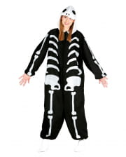 Skeleton Onesie Ladies With Hood
