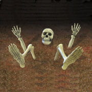 Skeleton Parts Lawn Decoration