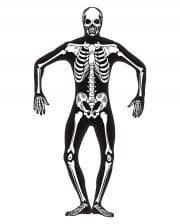 Skeletal skinsuit Glow in the Dark